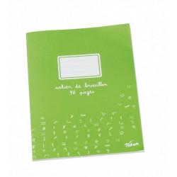Cahier brouillon 96 pages papier extra blanc 17x22 cm 60g seyes PICHON - 1