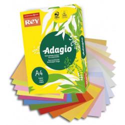 Ramette couleur pastel à la teinte 500 feuilles 80g A4  - jaune ADAGIO - 1