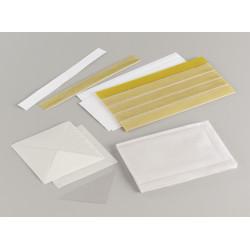 Etui adhésif en PVC cristal incolore 80 x 130 mm (Sachet de 10) PRODUIT GENERIQUE - 1