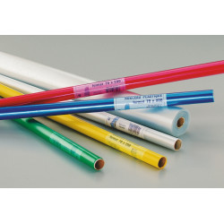 Rouleau plastique transparent polypropylène non adhésif 50m x 0,70m incolore 45 microns PRODUIT GENERIQUE - 1