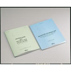 Registre journalier réf P3 21x29.7 cm -20 pages PICHON - 1