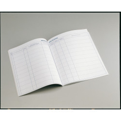 Registre matricule 200 élèves 21x29.7 cm 48 pages réf P12 PICHON - 1