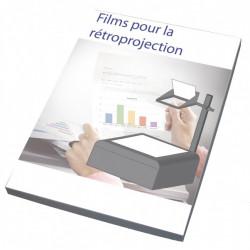 Film polyester pour rétroprojection (Boite de 100) PRODUIT GENERIQUE - 1