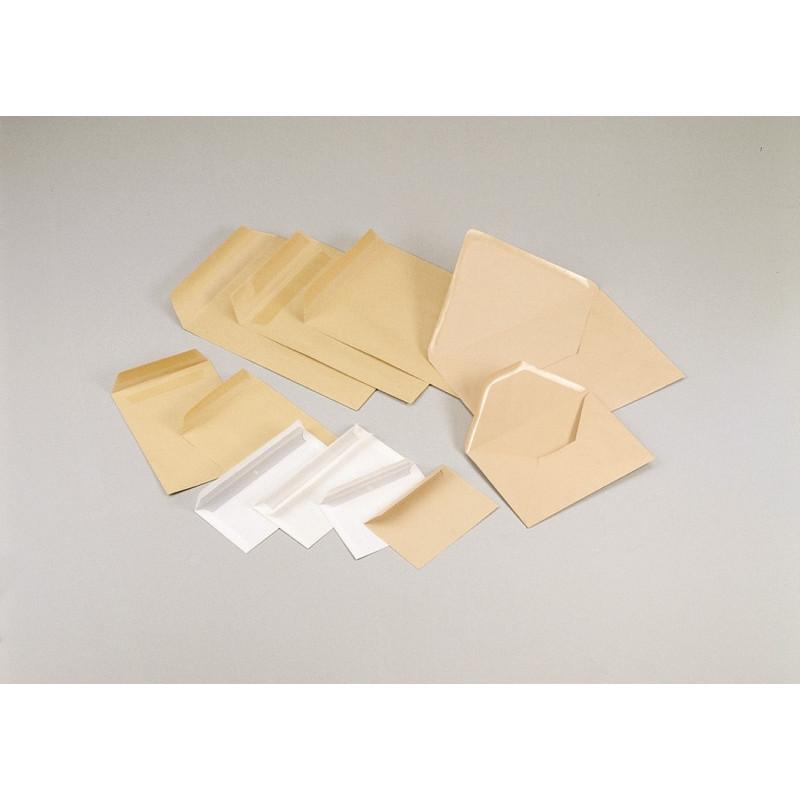 Enveloppe blanche autocollante Siligom 80g, 114x162 mm (Paquet de 50) PRODUIT GENERIQUE - 1