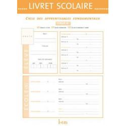 Livret scolaire d'évaluation cycle 2 Istra 22x30.5 cm - 20 pages ISTRA - 1