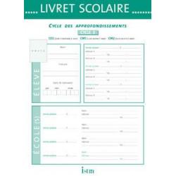 Livret scolaire d'évaluation cycle 3 Istra 22x30.5 cm - 20 pages ISTRA - 1