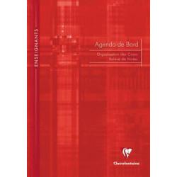 Agenda et cahier de bord Clairefontaine A4  CLAIREFONTAINE - 1