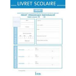 Livret scolaire ASH Istra 21x30 cm - 10 pages ISTRA - 1