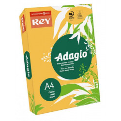 Ramette adagio vive 250 feuilles 120g A4 - bouton d'or (abricot) ADAGIO - 1