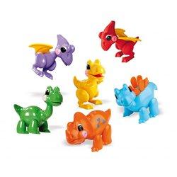 Lot de 6 dinosaures Tolo
