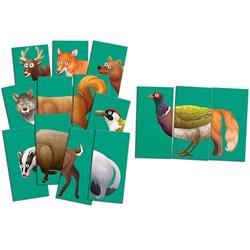 Jeux géant MIX MAX - les animaux de la forêt