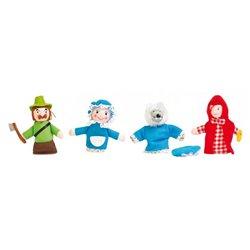 Marionnettes de doigts 'Le Petit Chaperon Rouge'