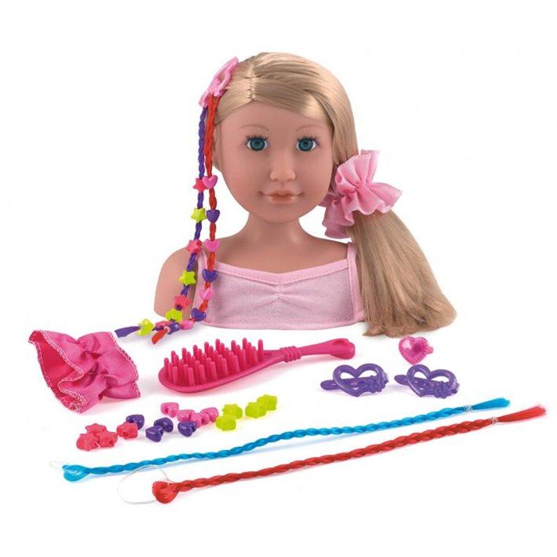 La poupée à coiffer