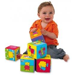 Gros cubes souples à images