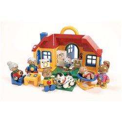 La maison de la famille Tolo