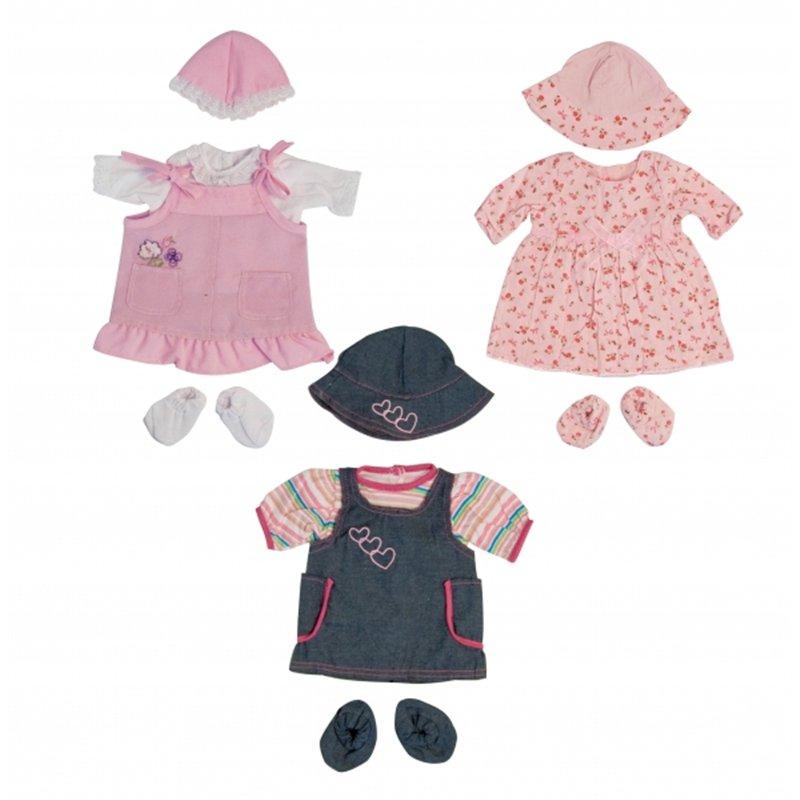 Set de vêtements pour bébé fille 40 cm