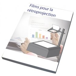Film polyester pour rétroprojection (Boite de 100)