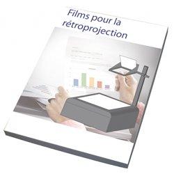 Film polyester pour rétroprojection (Boite de 50)