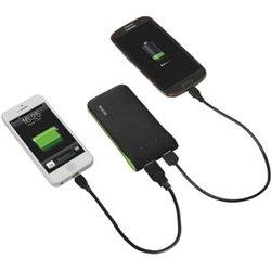 Chargeur USB portable noir