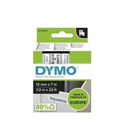 Ruban Dymo 1000, 4500 D1 12mmx7m - noir