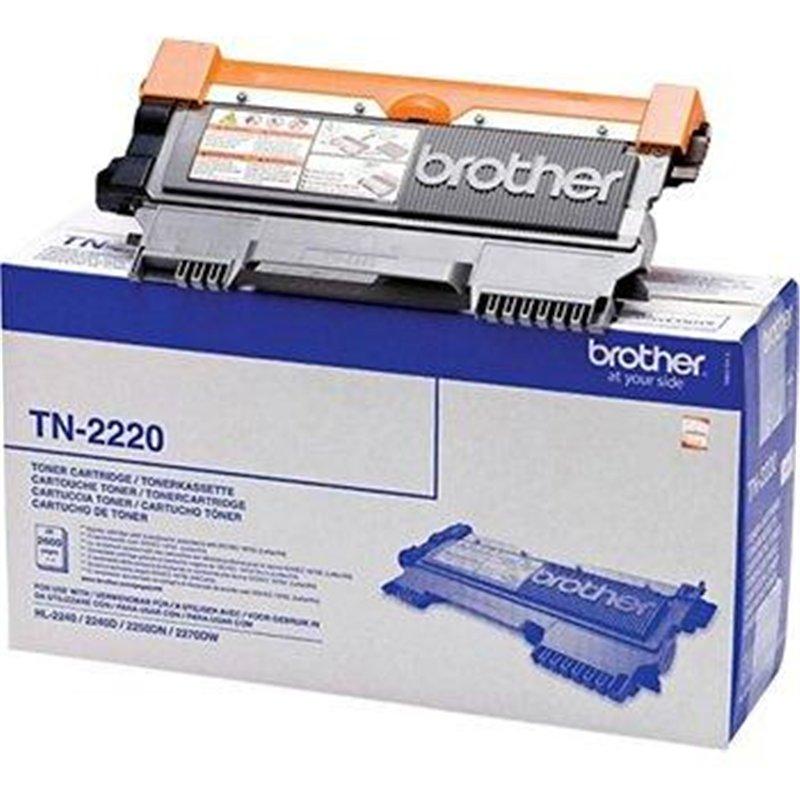 Cartouche toner laser Brother noire TN2220