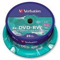 Disque DVD+ RW ré-inscriptible