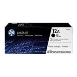 Cartouche toner laser HP noire HP-Q2612A (HP12A)