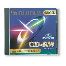 CD réenregistrable CDRW 80 mn