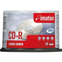 Pack 50 CDR 80 mn enregistrable