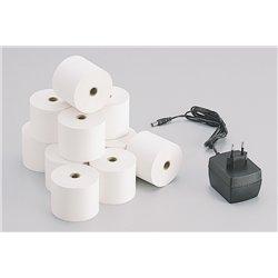 Rouleau papier machine à calculer 57 mm Ø 70 mm
