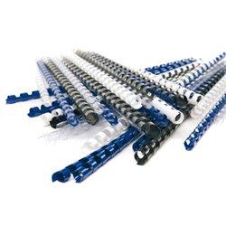 Peigne à relier 8 mm (Boite de 100) - bleu