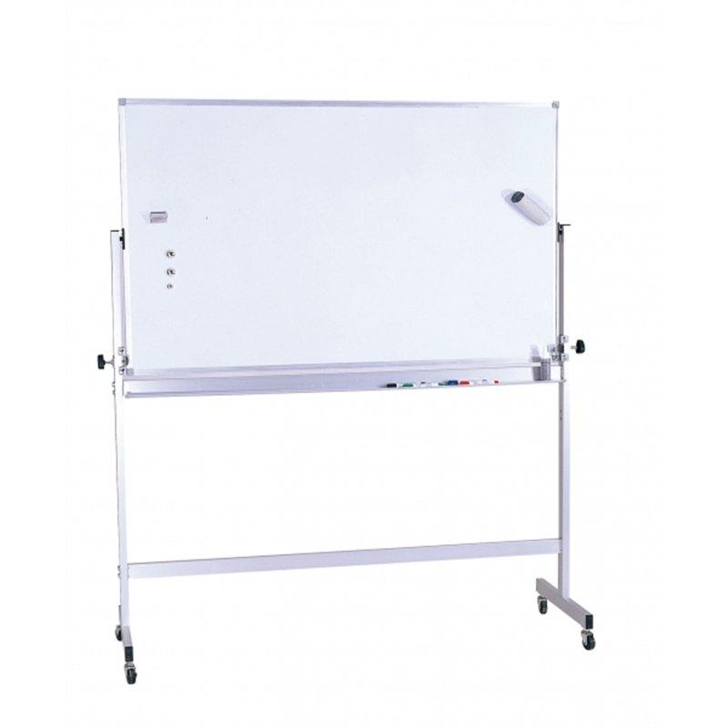 Tableau magnétique blanc double face format 90 x 120 cm