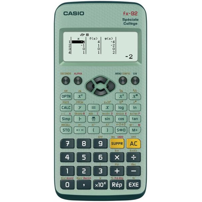 Calculatrice Casio FX 92
