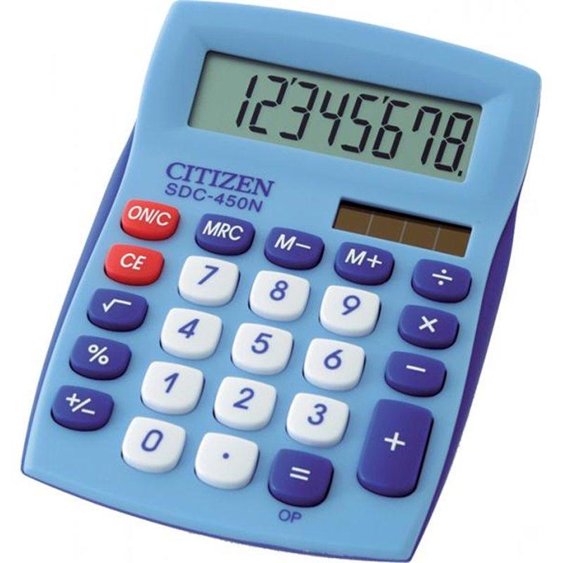 Calculatrice solaire Citizen SDC 450