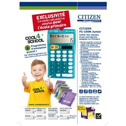 Calculatrice Citizen FC junior
