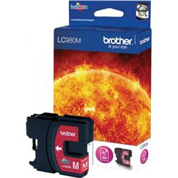 Cartouche jet d'encre Brother LC980M - magenta