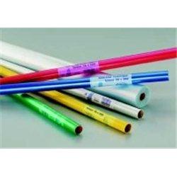 Rouleau plastique polypropylène non adhésif 2m x 0,70m 45 microns - Jaune