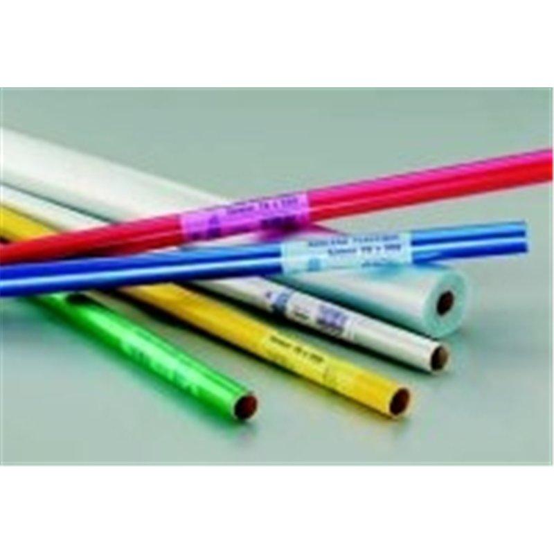 Rouleau plastique polypropylène non adhésif 2m  x0,70m 45 microns - Rouge