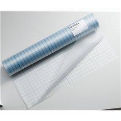 Rouleau plastique adhésif PVC transparent  1m x 25m 60 microns qualité supérieure