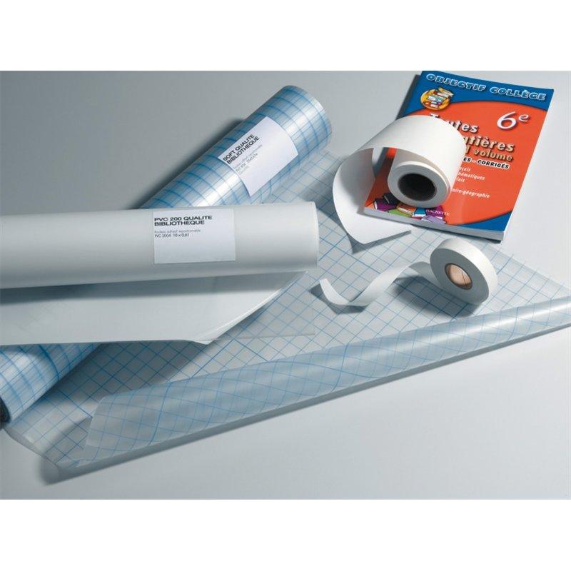 Rouleau adhésif repositionnable PVC soft 70 microns ph neutre 0.61 x 25m