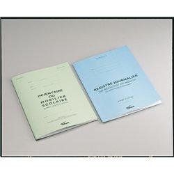 Registre journalier réf P3 21x29.7 cm -20 pages