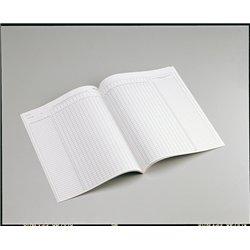 Registre d'appel 40 élèves 21x29.7 cm 24 pages réf. p13