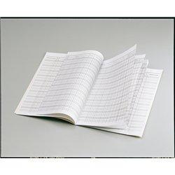 Registre de notation 40 élèves réf P8-21x29.7 cm- 20 pages