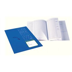 Registre d'appel journalier 40 élèves 21x29.7 cm 24 pages