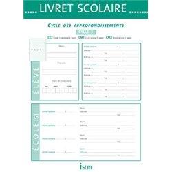 Livret scolaire d'évaluation cycle 3 Istra 22x30.5 cm - 20 pages