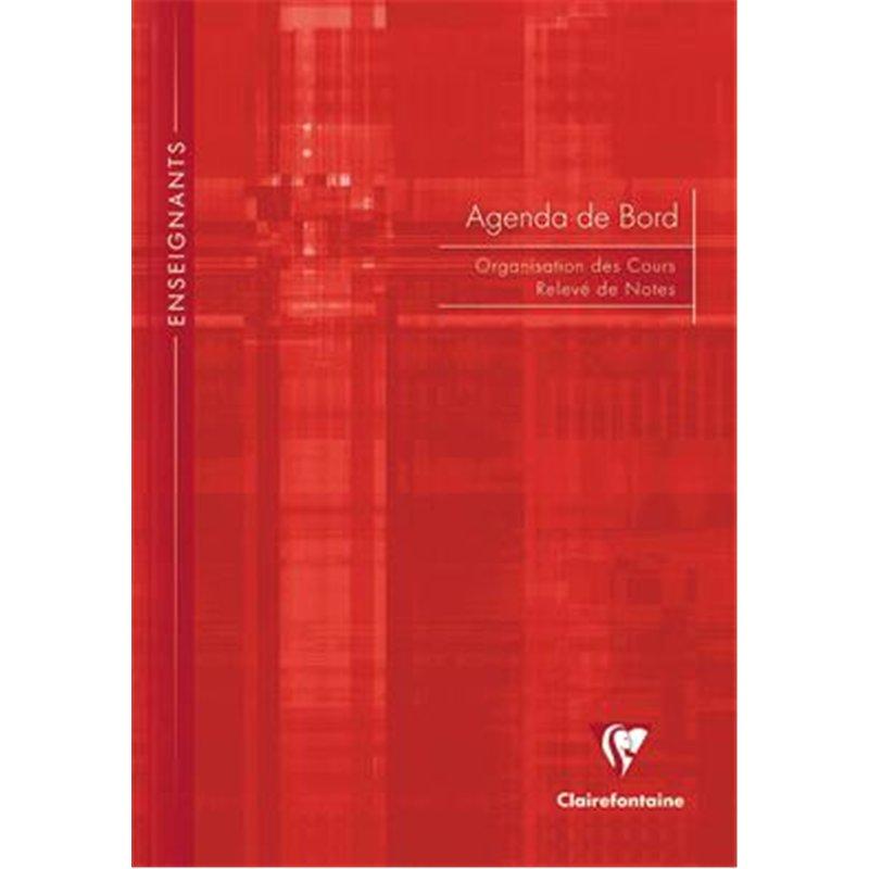 Agenda et cahier de bord Clairefontaine A4