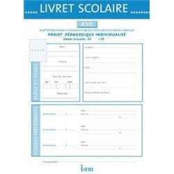Livret scolaire ASH Istra 21x30 cm - 10 pages