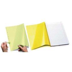 Rabats adhésifs 17x20 cm pour cahiers 17x22 cm (paquet de 20)