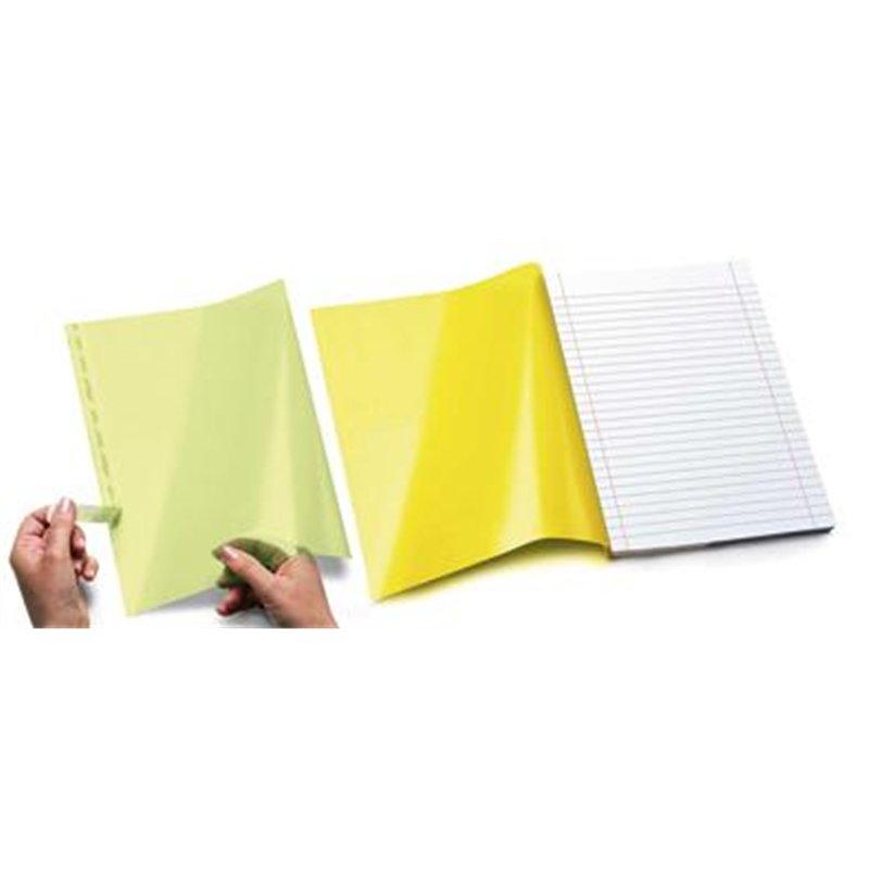 Rabats adhésifs 22x27.5 cm pour cahiers A4 et 24x32 cm (paquet de 20)