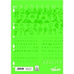 Copies doubles 200 pages 90g A4 perforées seyes (Etui de 50)